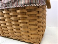 Newspaper basket.