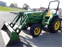 John Deere 4600 Compact Utlity Tractor  & Loader