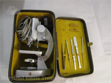 Jason Model 707 Deluxe Microscope Other Items For Sale In