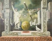 Vojislav Stamenic: American Icon Surreal Painting