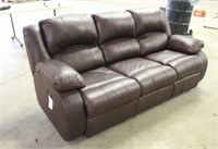Ashley Furniture Reclining Leather Couch