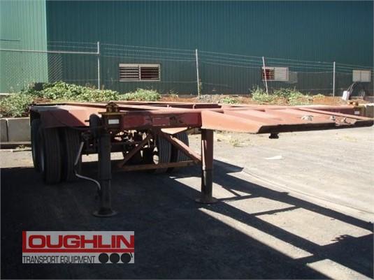 1991 Krueger Skeletal Trailer Loughlin Bros Transport Equipment - Trailers for Sale
