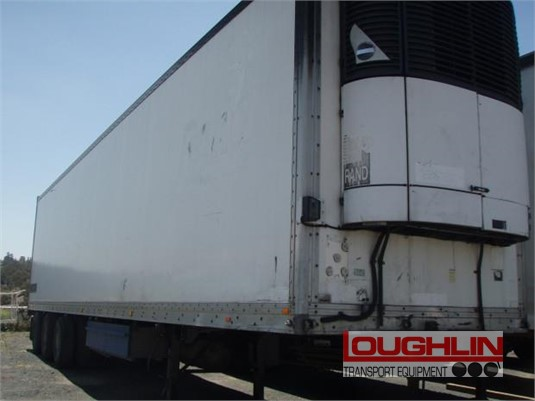 2001 Lucar Refrigerated Trailer Loughlin Bros Transport Equipment  - Trailers for Sale