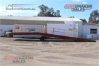 Custom Plant Trailer With Ramps Loading Ramps