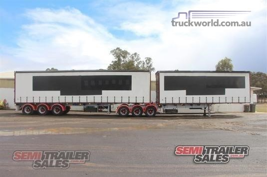 1997 Vawdrey Curtainsider Trailer Semi Trailer Sales  - Trailers for Sale