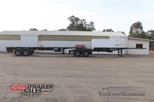 2011 Cimc Skeletal Trailer - Trailers for Sale