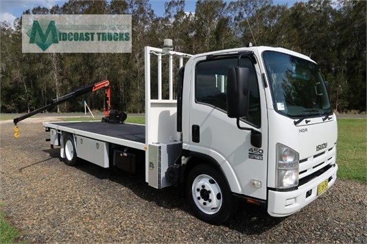 2010 Isuzu NQR450 Midcoast Trucks - Trucks for Sale