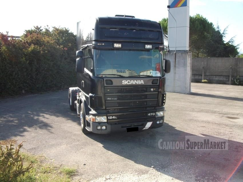 Scania R124.470 Uzywany