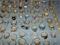 Enormous Gold Estate Jewelry Lot.