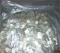 Silver Dime Lot.