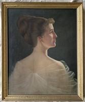 W. Loring Clark. Oil on Canvas.