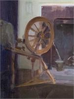 Marguerite Stuber Pearson. Oil on Canvas.