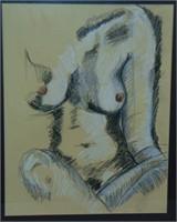 Philip Leslie Hale. Sepia Pencil.