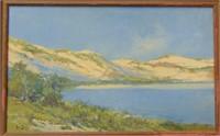 Arthur V. Diehl. Oil on Board.