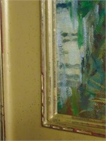 Harold C. Dunbar. Oil on Canvas.