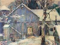 John Fabian Carlson. Watercolor.