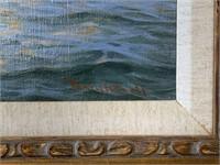 Walter Brightwell, Jr. Oil on Canvas.