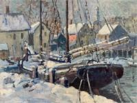 H. Boylston Dummer. Oil on Canvas.