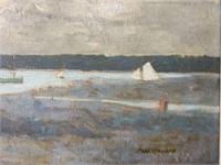 Paul Wescott  (1904 - 1970) Oil on Canvas.