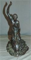 Raymond Jacques Sabouraud  (1864 - 1938) Bronze.