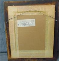 Frank Kleinholz  (1901 - 1987). Oil on Board.