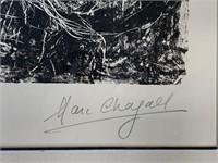 """Marc Chagall """"Bouquet de Nuit"""", Lithograph"""