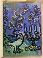 Chagall Jerusalem Windows w/2 Original Lithographs