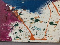 "Taro Yamamoto, Oil on Canvas ""Spring Concert"" 1962"