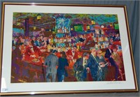 "LeRoy Neiman ""Harry's Wall Street Bar"" Serigraph"