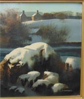 Tom Nicholas. Oil on Canvas.