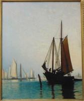 Arthur Quarterly. Oil on Canvas.