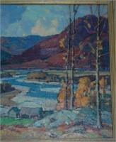 Aldro T. Hibbard. Oil on Canvas.