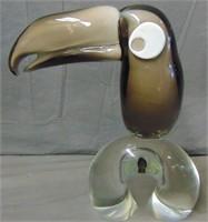 Licio Zanetti Murano Glass Toucan Figurine