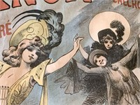 """1890's Alfred Choubrac """"Trianon"""" Theatre Poster"""
