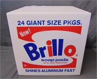 After, Andy Warhol Brillo Box Pouf