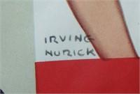 WWII Poster, Schools at War, Irving Nurick