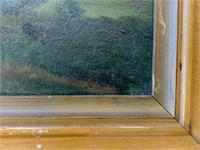Johann Valentin G. Ruths, Oil on Board Landscape