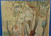 Early 20th Century Watercolor.