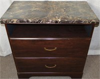 WESTWOOD MARBLED TOP STAND
