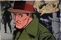 "Jerry Kearns, Acrylic on Canvas, ""Bogeyman"""
