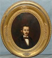 James Thorpe Flaherty, Oil Self Portrait