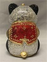 Judith Leiber Crystal Panda Purse.