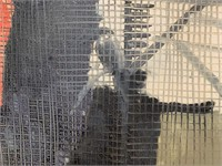 """Hunt Slonem, Oil on Canvas """"Birds in a Cage"""""""
