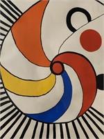 Alexander Calder, Signed Lithograph