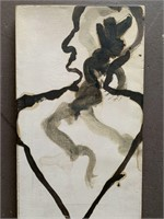 """James Nares, Oil on Canvas """"Untitled"""""""
