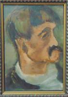 Elisabeth Mary Burgin  (1887 - 1965) Oil.