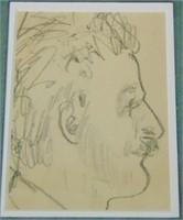 Peggy Brook (Margaret) Bacon  (1895 - 1987) Pencil