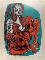 """George Conrad Lithograph A/P """"Woman"""""""