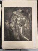 George Conrad, Portfolio of Lithographs 34 Pcs