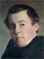 Cephas Thompson, Oil on Canvas Pair of Portraits